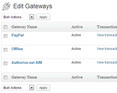 Accept and track Offline, PayPal and Authorize.net payments. Flexible Gateway API for custom integrations.